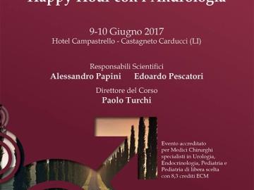 IV Edizione Happy Hour con l'Andrologia 9-10 Giugno 2017 – Castagneto Carducci (LI)