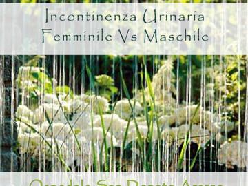 Incontinenza Urinaria Femminile Vs Maschile