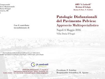 Patologie disfunzionali del pavimento pelvico: approccio multi specialistico
