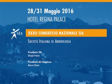 XXXII CONGRESSO NAZIONALE SIA – Società Italiana Andrologia